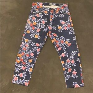 Floral Citizens of Humanity Jeans